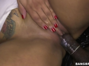 Becca Diamond fucks an anonymous dick