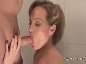 Luscious MILF Is Almost Perfect For Sex