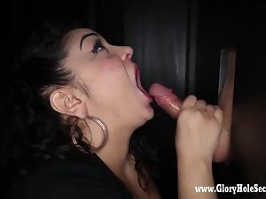 Gloryhole Secrets BBW Katrina loves cocks cumming 1