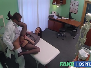 FakeHospital Hidden cameras catch female patient fuckin