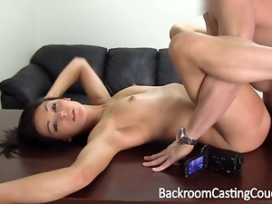 Fit Teen Anal and Cum Facial