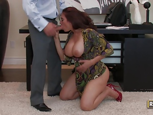 Sheila Marie office fucking