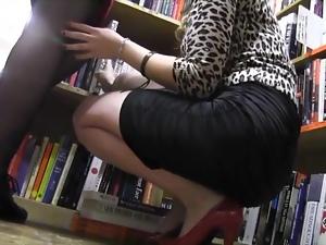 Lesbian librarian fucking
