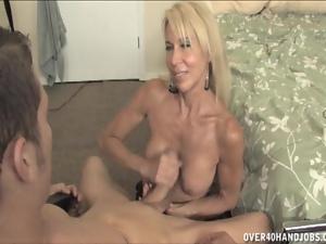 Hot mom Erica Lauren gets handy
