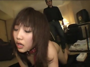 Painful flogging for submissive Japanese girl