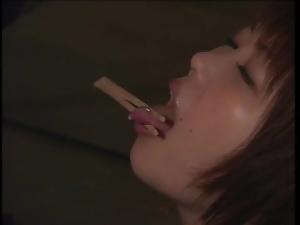 Kinky Japanese lesbian vampire porn video