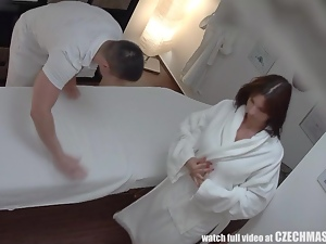 Busty MILF Gets Fucked during Massage