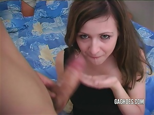 Rough Gagging For Cute Young Teen