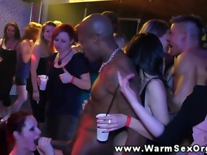 Party sluts at orgy plowed