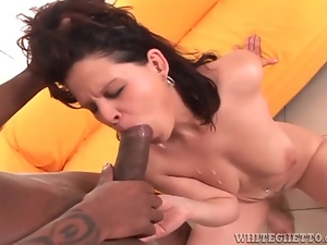 Facials from big cocks for these sexy sluts