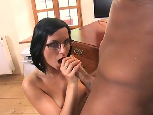 Assfucked secreatary renata black