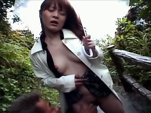 Fingering hairy pussy japanese slut
