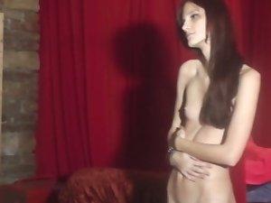 Skinny rebeka striptease casting