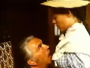 Josefine sucks a priest's cock