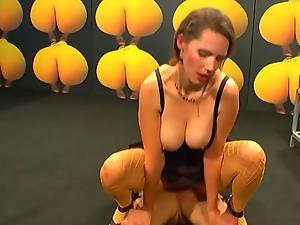 Sexy german girl viktoria receiving rough fucking.