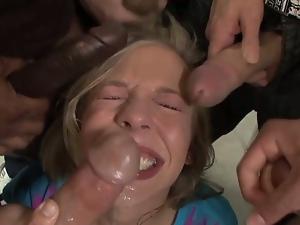 Chastity lynn detention blowbang