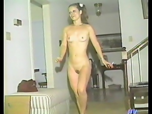 Slim retro girls toy and finger each others pussies