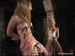 Kimberly Kane gets multiple orgasms while being tortured in BDSM clip