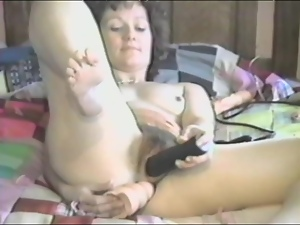 Mature's masturbated and fucked in amateur video