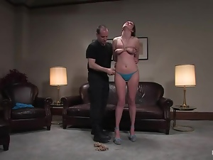 A very suspicious job interview with a  divine babe Winter Sky