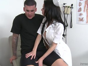 Veronica Avluv gets her vag fucked in all positions after giving head