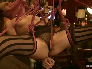 Naughty girls get humiliated and punished at the party