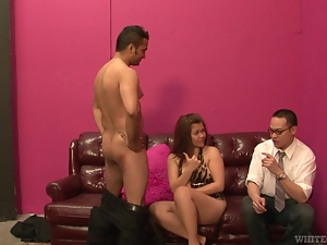 Kat is getting fucked in front of her husband