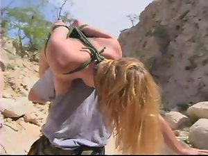 BDSM in the wild wild desert with Jenni Lee and Darling