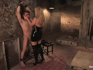 Luscious blond loves fucking and getting fucked in BDSM