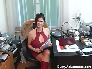 That BBW Lady Ester is getting poked so fucking hard