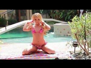Aaliyah Love stars in sultry bikini video
