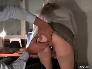 Kinky blonde wife fisted in her wet pussy