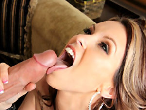 Cock and ball sucking babe