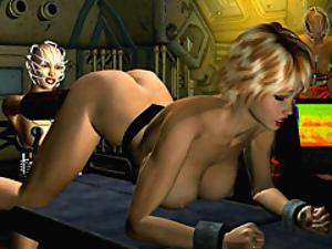 3d lesbian bondage sex