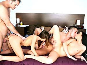 A big dick for each slut