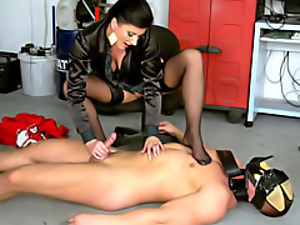 Fun with her submissive