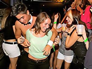 Dancing girls get wild