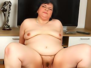 Fat granny fucked