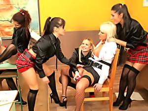 School sex party!