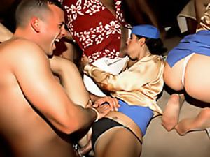 Drunk orgy sex