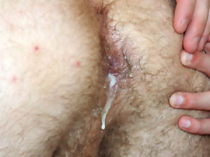 Dirty Threesome Gay Sex Creampies