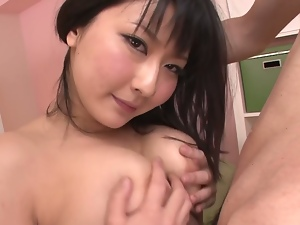 blowjob and tit fuck from the gorgeous megumi haruka