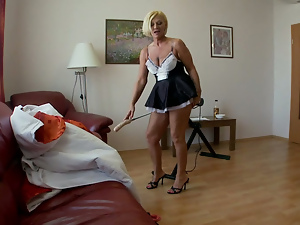 OLD MAID GETS FUCKED