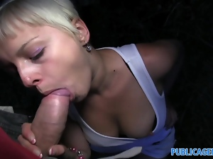 PublicAgent Cute short haired blonde has a tight pussy