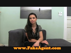 FakeAgent Creampie for hot amateur
