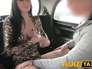 FakeTaxi Escort trades anal for free ride