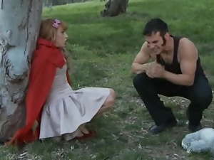 Fairytale fucking in the woods