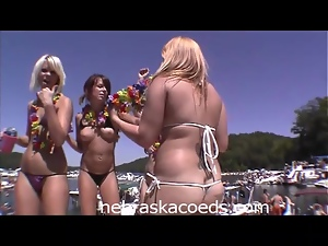 Naked Boat Party Bash