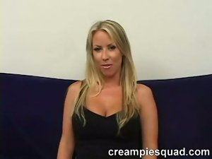 Carolyn reese double creampie