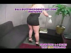 Big night ballbusting cuckold gangbang part1